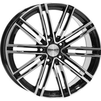 Janta aliaj MONACO GP7 9.5x20 5x130 et50 Gloss Black / Polished