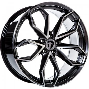 Janta aliaj Tomason TN22 8.5x19 5x108 et45 Dark hyper black polished