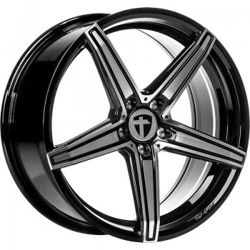 Janta aliaj Tomason TN20 8.5x19 5x108 et45 Dark hyper black polished