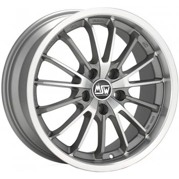 Janta aliaj MSW MSW 21 7x17 4x108 et16 MATT GREY FULL POLISHED