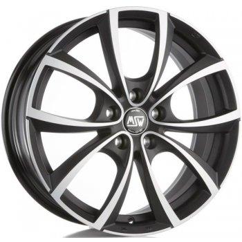 Janta aliaj MSW MSW 27 7.5x18 5x100 et35 matt dark titanium full polished