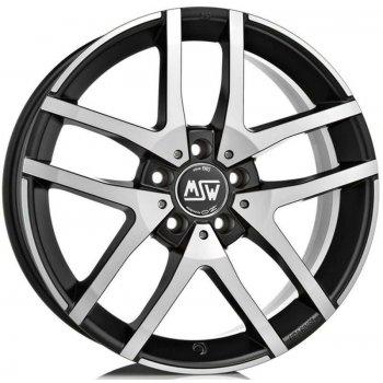 Janta aliaj MSW MSW 28 7x17 5x100 et35 matt black full polished