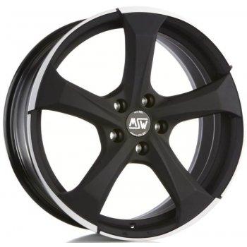 Janta aliaj MSW MSW 47 7.5x17 5x112 et35 matt dark titanium full polished