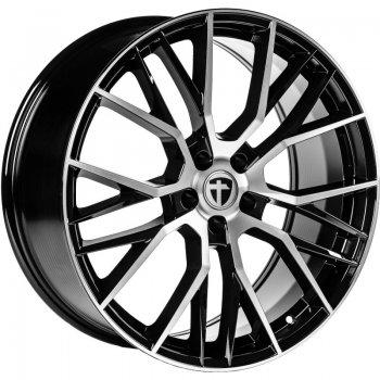 Janta aliaj Tomason TN23 8.5x20 5x108 et45 Black Diamond polished