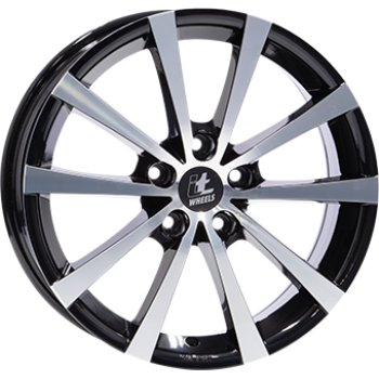 Janta aliaj IT WHEELS ALICE 7x17 5x114 et40 Gloss Black / Polished