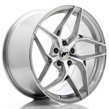 Janta aliaj JAPAN RACING JR35 9.5x19 5x112 et45 Machined Face Silver
