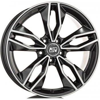 Janta aliaj MSW MSW 71 7.5x17 5x105 et38 GLOSS DARK GREY FULL POLISHED