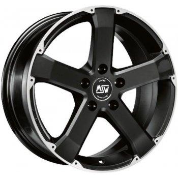 Janta aliaj MSW MSW 45 8x18 5x127 et40 matt black full polished