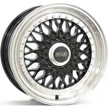 Janta aliaj DIVERSEN RS601 7x16 4x100 et35 Gloss Black / Polished