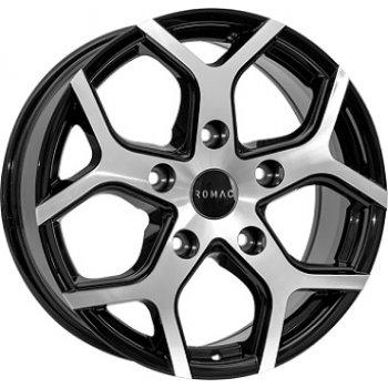 Janta aliaj ROMAC COBRA 7.5x18 5x120 et45 Gloss Black / Polished