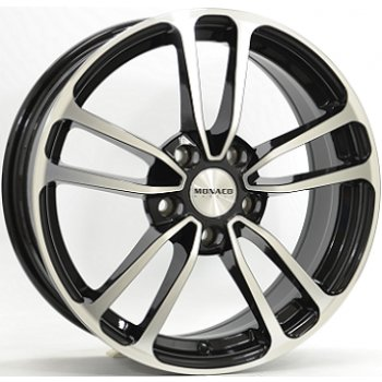 Janta aliaj MONACO CL1 6.5x16 5x114 et45 Gloss Black / Polished