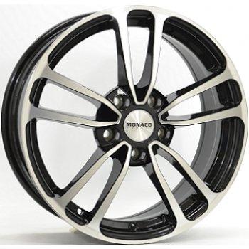 Janta aliaj MONACO CL1 7.5x18 5x108 et45 Gloss Black / Polished