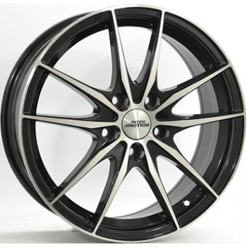 Janta aliaj INTER ACTION ZODIAC 6.5x16 5x108 et45 Gloss Black / Polished