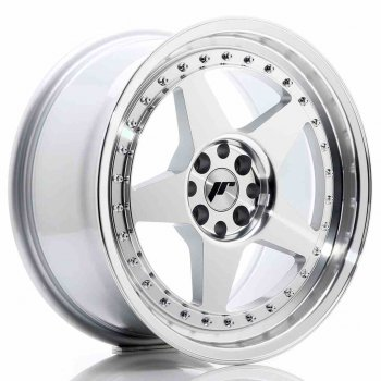 Janta aliaj JAPAN RACING JR6 8x17 4x100 et20 Machined Face Silver