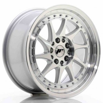 Janta aliaj JAPAN RACING JR26 8x17 5x100 et35 Silver Machined Face