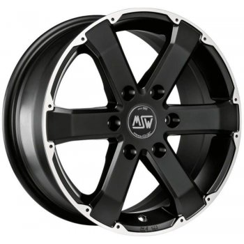 Janta aliaj MSW MSW 46 7.5x17 6x114.3 et30 matt black full polished