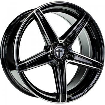 Janta aliaj Tomason TN20 NEW 8x18 5x100 et35 black polished