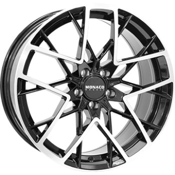 Janta aliaj MONACO GP9 8.5x19 5x108 et45 Gloss Black / Polished