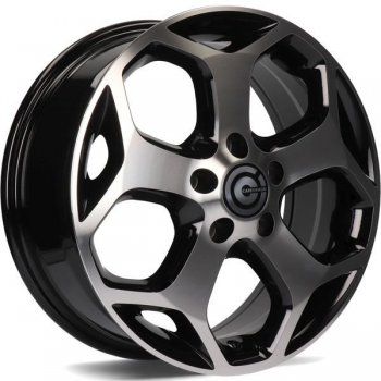 Janta aliaj Carbonado Fox 6.5x16 5x108 et52.5 BFP - Black Front Polished