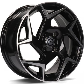 Janta aliaj Carbonado Clipper 6.5x15 4x108 et40 BFP - Black Front Polished
