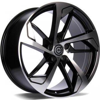 Janta aliaj Carbonado Next 8x18 5x112 et35 BFP - Black Front Polished