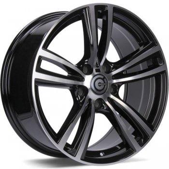 Janta aliaj Carbonado Dual 8x17 5x120 et30 BFP - Black Front Polished