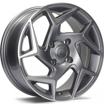 Janta aliaj Carbonado Clipper 6.5x15 4x108 et40 AFP - Anthracite Front Polished
