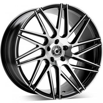 Janta aliaj Wrath Wheels WF-4 10x20 5x120 et42 BP - Black polished