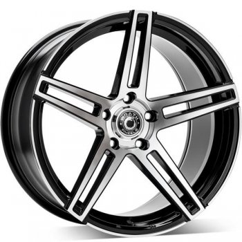 Janta aliaj Wrath Wheels WF-1 9.5x19 5x120 et37 BP - Black polished