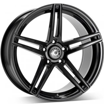 Janta aliaj Wrath Wheels WF-1 9.5x19 5x112 et40 BLK - Black Glossy