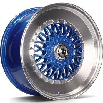 Janta aliaj Seventy9 SV-F 7x15 4x100 et30 Blue LP - Blue LP - Blue Lip Polish