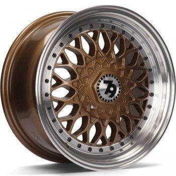 Janta aliaj Seventy9 SV-E 7x15 4x100 et30 Bronze LP - Bronze Lip Polished