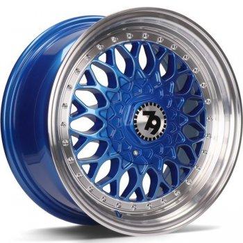 Janta aliaj Seventy9 SV-E 7x15 4x100 et30 Blue LP - Blue LP - Blue Lip Polish