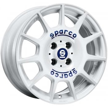 Janta aliaj SPARCO SPARCO TERRA 7x16 5x112 et35 white blue lettering