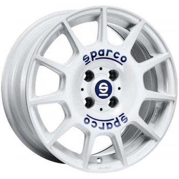 Janta aliaj SPARCO SPARCO TERRA 7.5x17 5x100 et48 white blue lettering