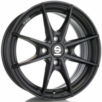 Janta aliaj SPARCO SPARCO TROFEO 4 6.5x16 4x100 et37 MATT BLACK