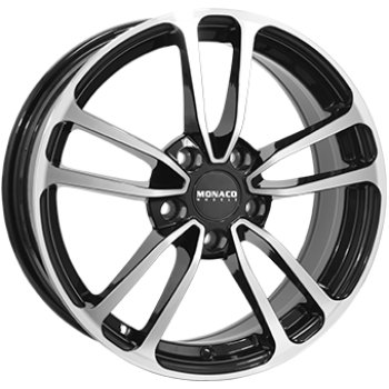 Janta aliaj MONACO CL1 8x19 5x108 et45 Gloss Black / Polished