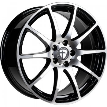 Janta aliaj Tomason TN1 7x17 4x100 et38 black polished