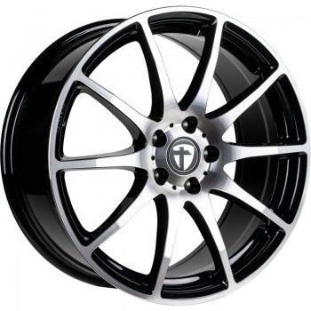 Janta aliaj Tomason TN1 7x17 5x114.3 et45 black polished