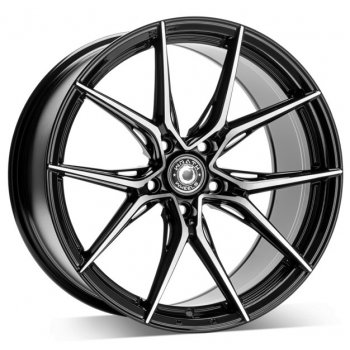 Janta aliaj Wrath Wheels WFX 8.5x19 5x120 et35 BP - Black polished