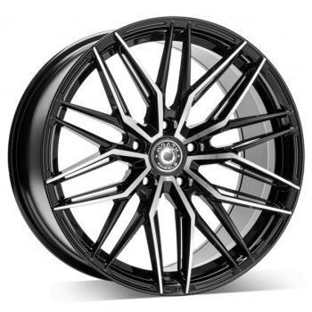 Janta aliaj Wrath Wheels WF-9 9.5x19 5x112 et42 BP - Black polished
