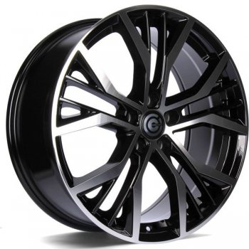 Janta aliaj Carbonado Power 7.5x17 5x112 et42 BFP - Black Front Polished