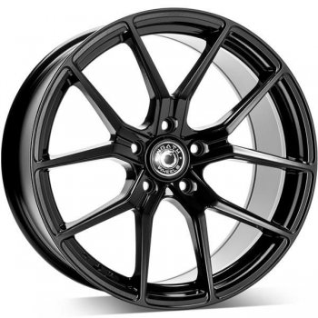 Janta aliaj Wrath Wheels WF-7 9.5x19 5x120 et38 BLK - Black Glossy