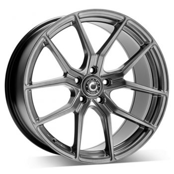 Janta aliaj Wrath Wheels WF-7 9.5x19 5x120 et38 HB - HYPER BLACK