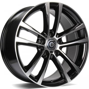 Janta aliaj Carbonado Speed 8x17 5x120 et30 BFP - Black Front Polished