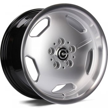 Janta aliaj Carbonado Retro 9x17 5x112 et35 DHSLP - Diamond Hyper Silver Lip Polished