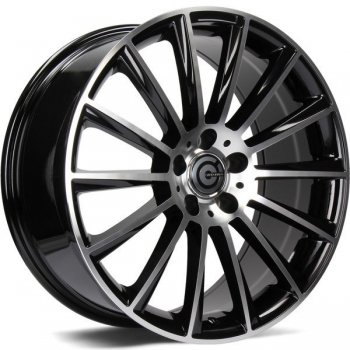 Janta aliaj Carbonado Performance 9.5x20 5x112 et45 BFP - Black Front Polished