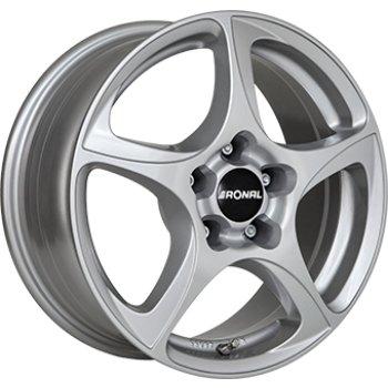 Janta aliaj RONAL R53 6.5x15 4x108 et25 Crystal Silver