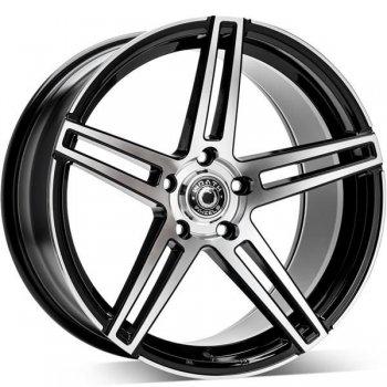 Janta aliaj Wrath Wheels WF-1 9.5x19 5x120 et40 BP - Black polished