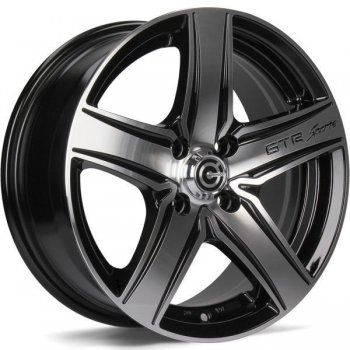 Janta aliaj Carbonado GTR Sports 1 6.5x15 5x112 et38 BFP - Black Front Polished